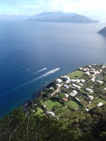this is on CAPRI looking to the bay of NAPELS