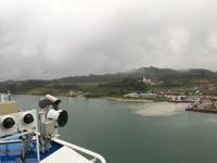 Pictures taken when our ship was crossing the canal