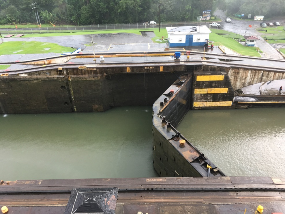Lock about to open