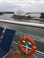 Arriving Sydney end of cruise