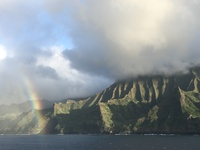 Napali Coast, photo taken from the ship