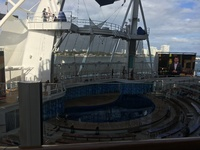 The aqua theater on deck 6.