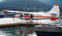 Float plane ride to Taku Lodge - excellent adventure