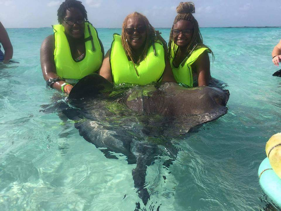 Sting Ray excursion in Cancun.  Everyone had a great time. We didnt want to leave.