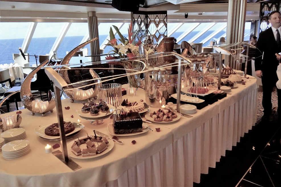 Afternoon Tea chocolate buffet 1 of many