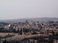 The Holy Land from the Mount of Olives
