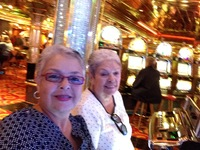 At the casino