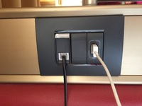 Lots of USB charging points no need for adaptors Aus to Euro etc.