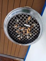 As a non smoker I think these bins could have been emptied far more frequen