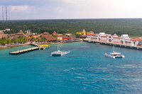 One of the Cozumel Ports.