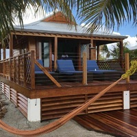 Harvest Caye Private Air Conditioned Sea Side Villa with butler service