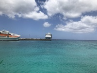 Voyager of the Seas at Mare, New Caledonia