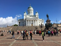 Helsinki is an easy city to see on your own, as we did, taking the hop-on-h