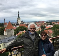 Tallinn old town was another stop we did with a small group, organized prio