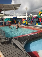 Kids area for swimming was fantastic!