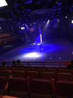 Waiting for the ice show to begin