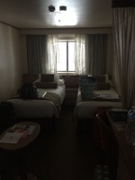 Twin room on deck 6, spacious enough, clean, comfy beds, no issues