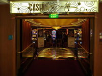 entrance to Casino Royale