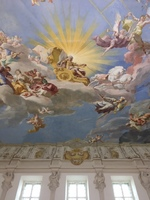 A Monastery Ceiling Mural