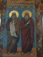 Icon Moses and Isaiah