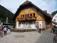 Coo Coo clock house in the black forest