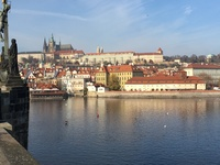 City of Prague, shot from the Charles Bridge.