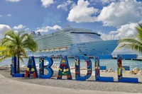 Oasis of the Seas in Labadee Haiti