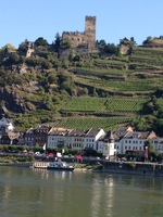 Cruising the Rhine.