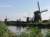 The windmills of the Netherlands.