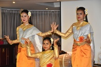 Entertainment on board the AmaDara.