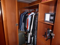 Wardrobe and safe
