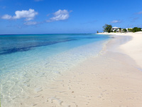 pillory beach on Grand Turk