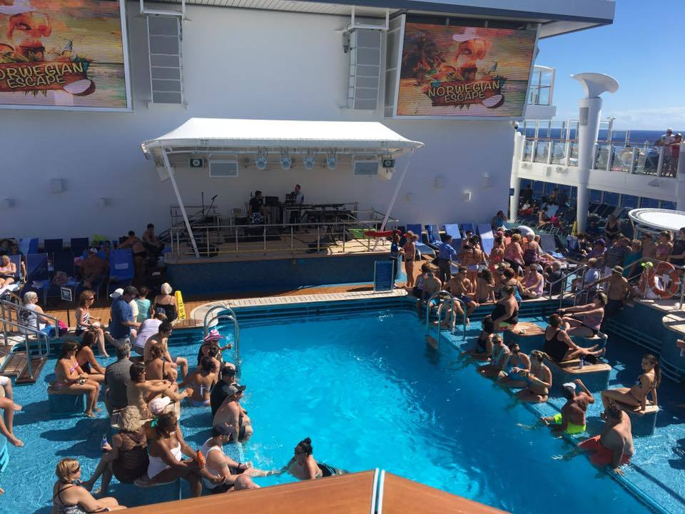 Pool on and At Sea day