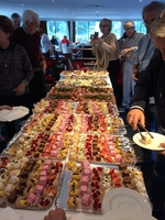 Sample of the best cakes on board.