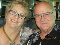 Janis & Tom on the beautiful Serenade of The Seas cruise