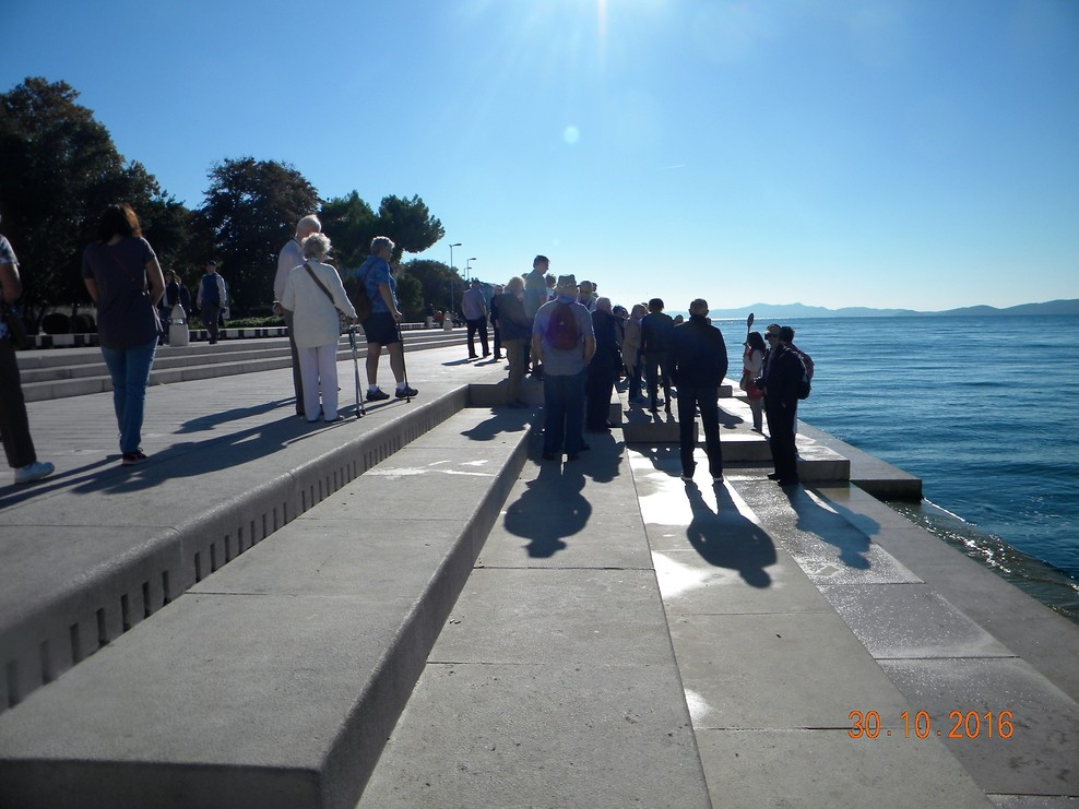 Sea organ at Zadar