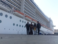 while coming back to the ship from Muscat