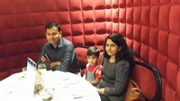 for dinner at at one of the fine restaurant