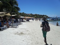 Beach At Paradise Resort (Roatan)