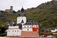 Cruising by the castles on the Rhine