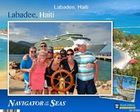 The family at Labadee