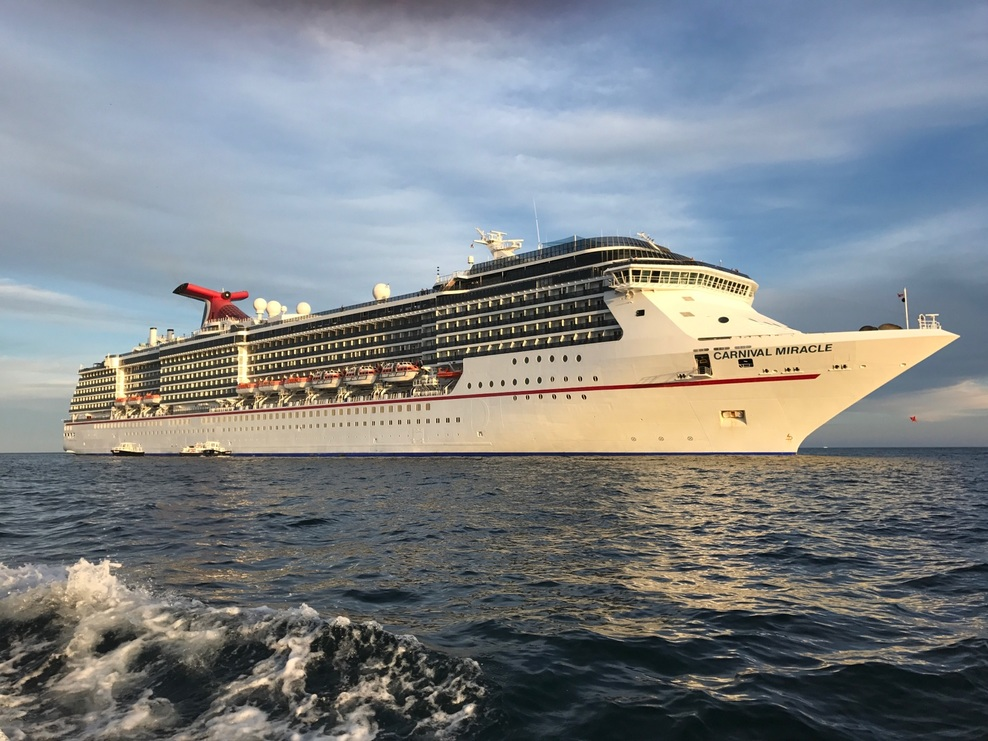 carnival cruise lines essay The condé nast traveler explainer explains how mega cruise ships  vice  president of culinary and dining for carnival cruise lines and the.