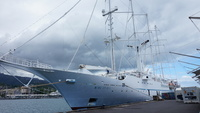 Wind Spirit in Papeete .