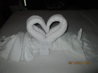 Valentine's Day Towel - Cabin
