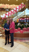 Valentines Day at Sea! It was wonderful that, after spending the day in Mau