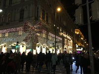 Vienna City Center at Christmas