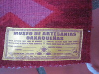 Museum of Weaving - Huatulco - located inside a shop in Crucesita. Well wor