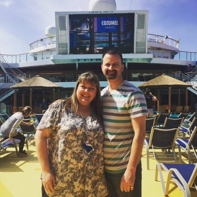 Lido Deck, first day on ship