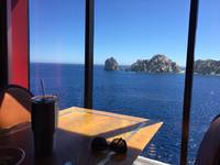 View at lunch in Cabo