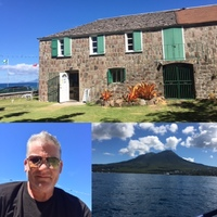 The birthplace of Alexander Hamilton, Nevis.